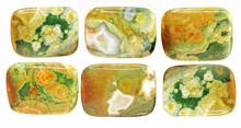 Green And Yellow Jasper Crystal