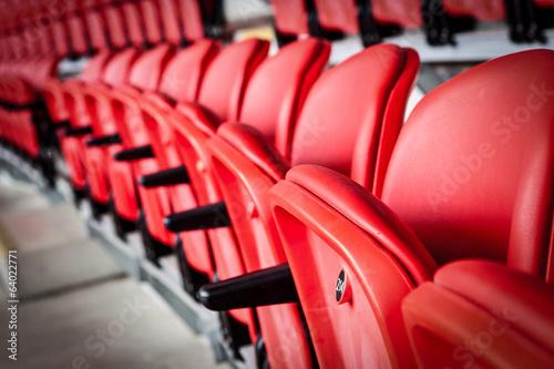 Türaufkleber Stadion Seats