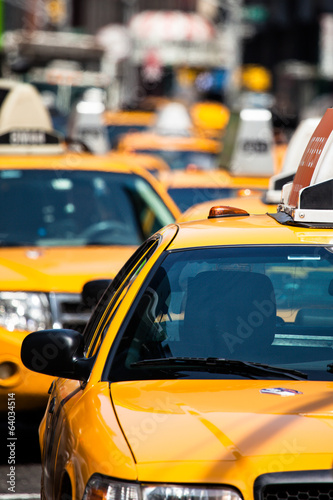 Wall Murals New York TAXI
