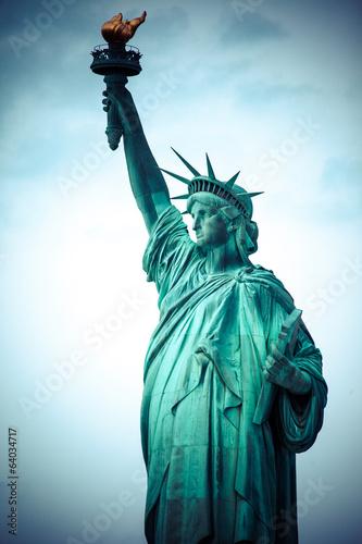 Fotografia  The Statue of Liberty at New York City