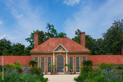 Fotografia, Obraz  Garden House at Mount Vernon