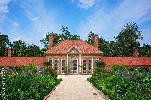 Fényképezés  Gardens at Mount Vernon plantation