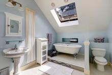 Velux Bathroom With Antique Ba...