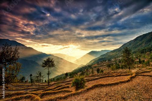 Staande foto Nepal Kalinchok Kathmandu Valley Nepal