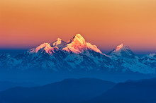 Himalayan Mountains View From ...