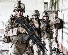 Squad Of Marines