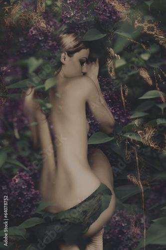 Fotografie, Tablou  sleaping fairy
