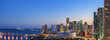 canvas print picture - Panoramic view of Miami