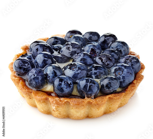 Blueberry tart Wallpaper Mural