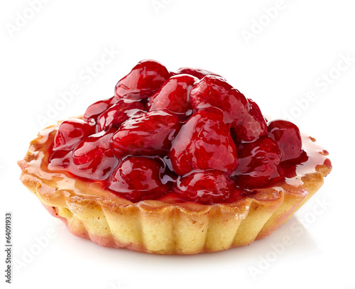 Photo  Raspberry tart
