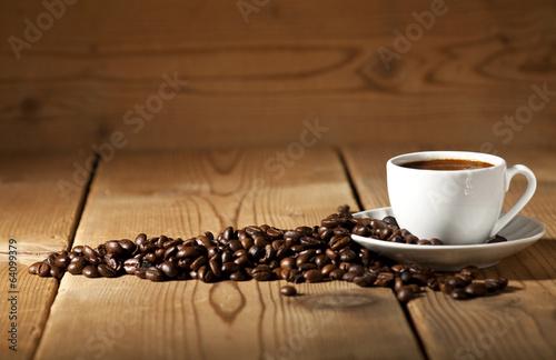 Tuinposter koffiebar Coffee