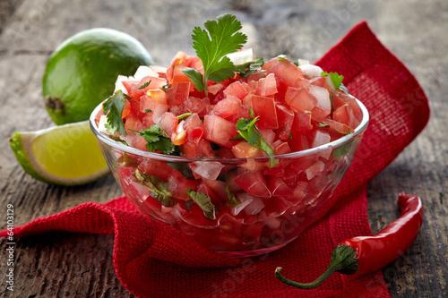 Fotografie, Obraz  Salsa dip