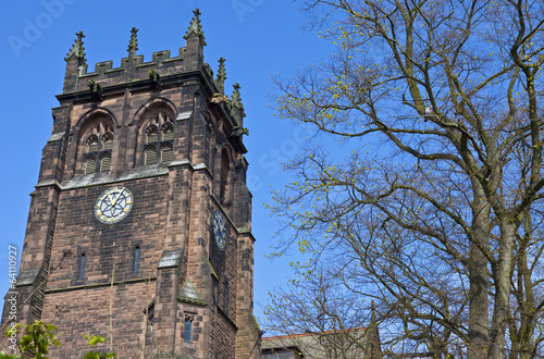 St. Peter's Church in Woolton, Liverpool Wallpaper Mural