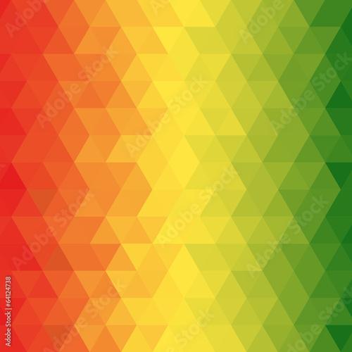 Fotografía Geometric reggae background