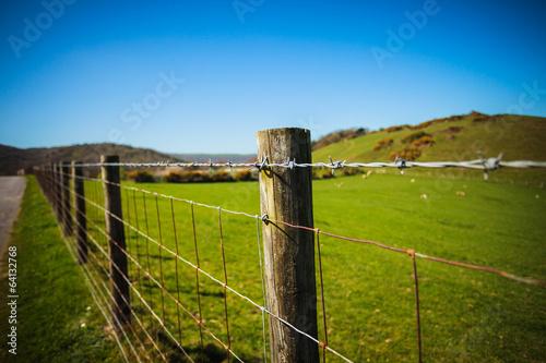 Fényképezés Fence in the country