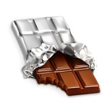 Chocolate Bar, Vector Illustration