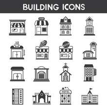 Building Icons, Map Elements