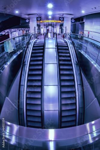Foto auf AluDibond Bahnhof Bologna: new railway underground station