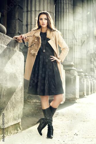 Spoed Foto op Canvas Gypsy fashion model
