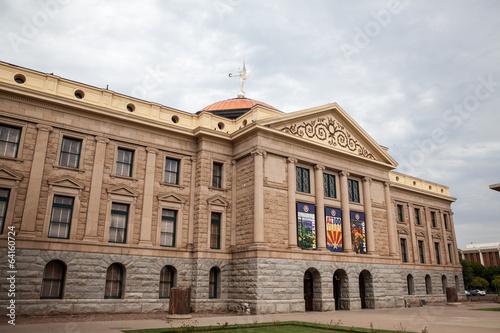 Photo  Arizona State House and Capitol Building in Phoenix, AZ