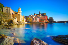Vernazza Village, Curch, Rocks...