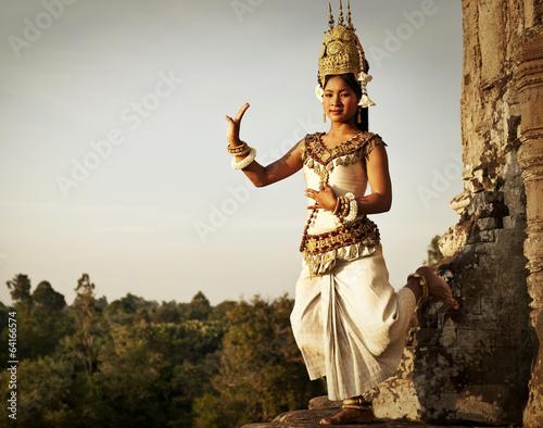Photo  Aspara Dancers at Angkor Wat