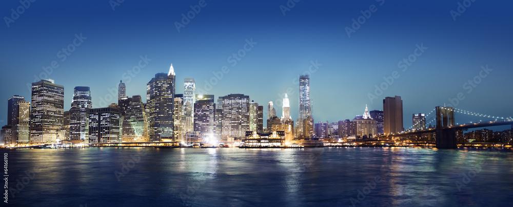 Panaroma of New York City