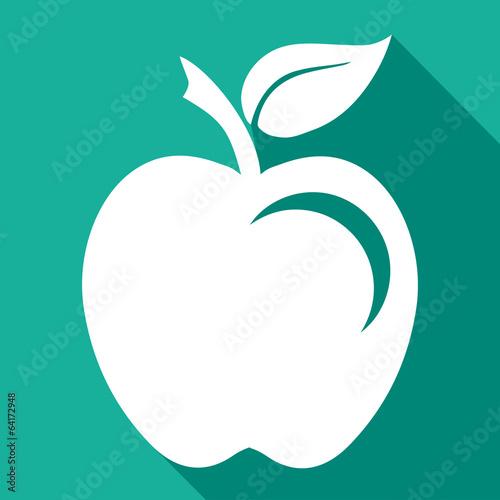 Fototapeta Logo pomme. obraz na płótnie