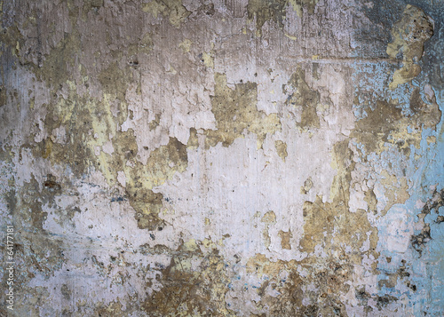 Deurstickers Oude vuile getextureerde muur grunge old wall background