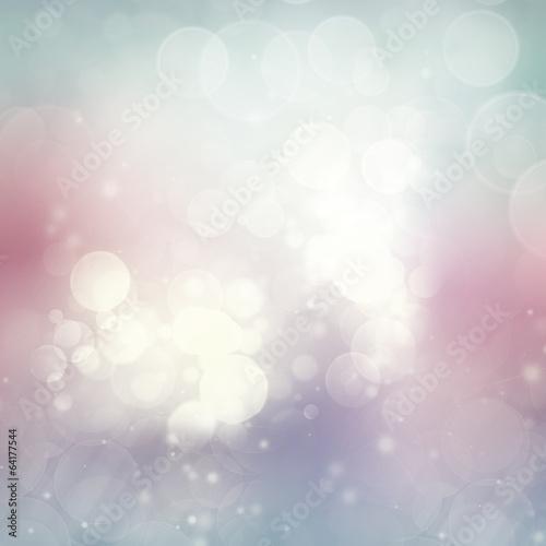 Fototapety, obrazy: Blue and pink Festive background
