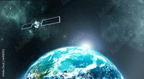 Photo  Earth satellite
