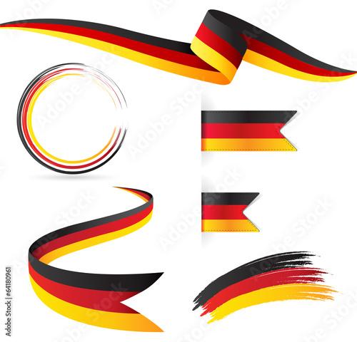 Fotografie, Obraz  germania bandiera