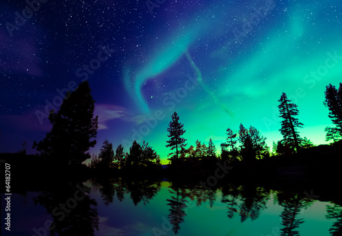 Acrylic Prints Northern lights Northern lights aurora borealis