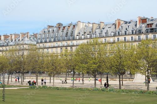 Jardin des Tuileries, Paris Fototapet