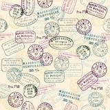 Vintage Stamp pattern