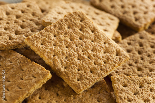 Fotografie, Obraz  Healthy Honey Graham Crackers