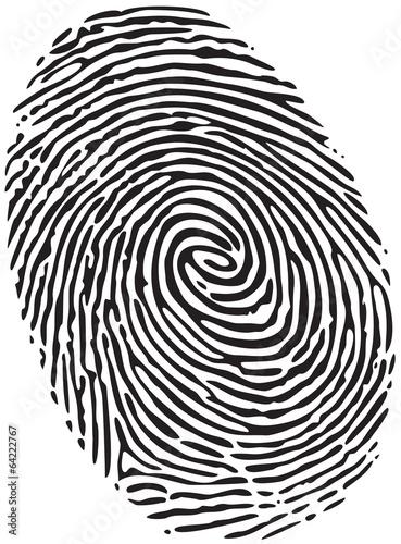 Cuadros en Lienzo  Fingerprint