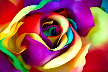 Fototapeta na wymiar fake rose flower