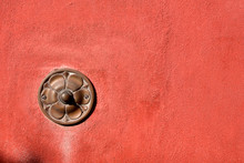 Old Doorbell On Wall - Liguria Italy