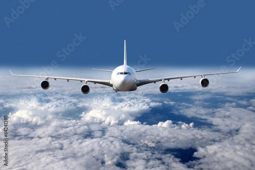 Photo  Aircraft above sky