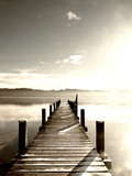 Fototapeta Fototapety pomosty - wooden jetty (78)