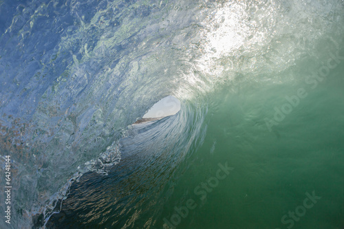 Fotografie, Tablou  Wave Inside Out Swimming