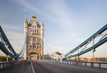 Tower Bridge in London long exposure