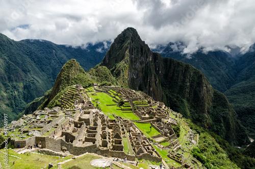 fototapeta na szkło Machu Picchu