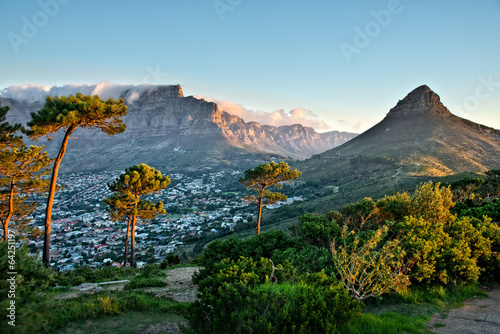 Spoed Foto op Canvas Zuid Afrika Signal Hill, Cape Town, South Africa