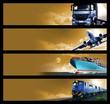 Logistics Banners