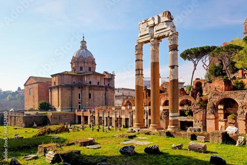 Fotomural  Forum Romanum - Rome, Italy