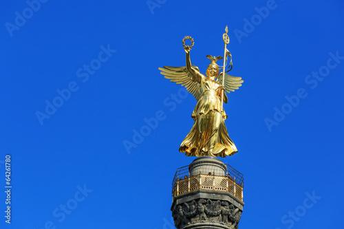 Die Goldelse auf der Berliner Siegessäule Poster