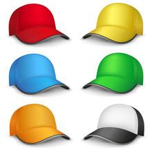 Multicolored Caps