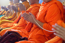 Monks Of The Religious Rituals...